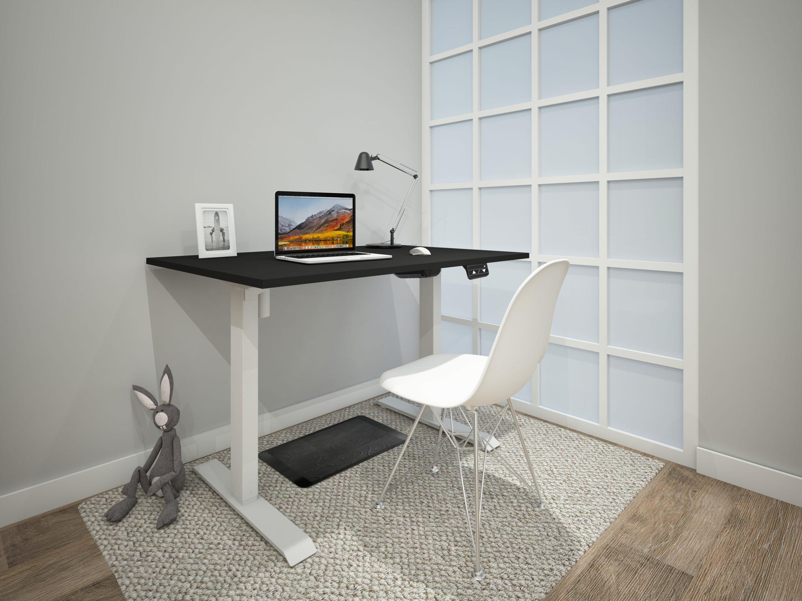 Single Motor Electric Height Adjustable Desk