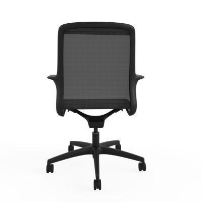 Designer task chair single shell mesh (RS803) – Black frame