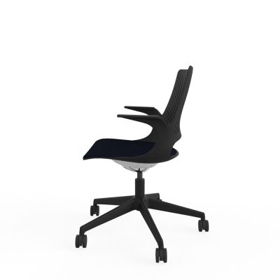 Designer Task Chair with Perforated Back (RS800) Black Shell